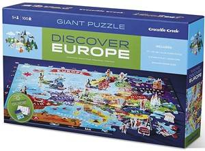 Crocodile Creek Discover puzzel Europe