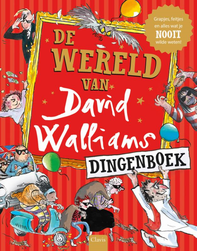 De wereld van David Walliams dingenboek