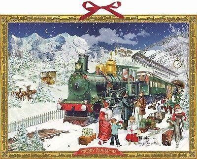 Kersttrein Advent kalender