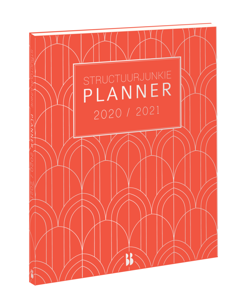 Structuurjunkie planner 2020/2021 (klein)