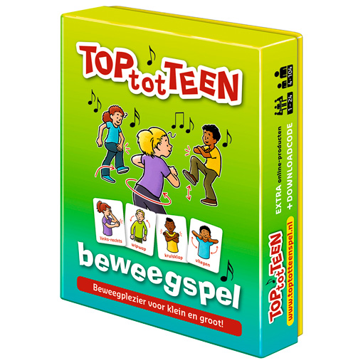 TOP-tot-TEEN beweegspel