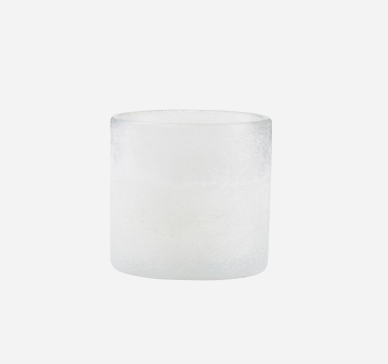Votive -Tealight holder, Mist, White Small