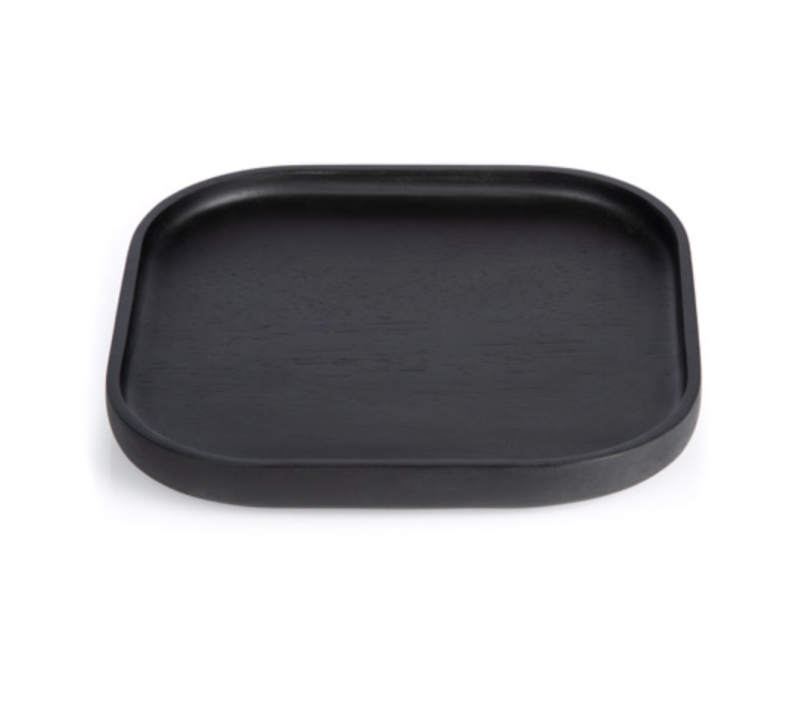 Plateaus / Valet - XLBOOM - NERO TRAY SQUARE SMALL
