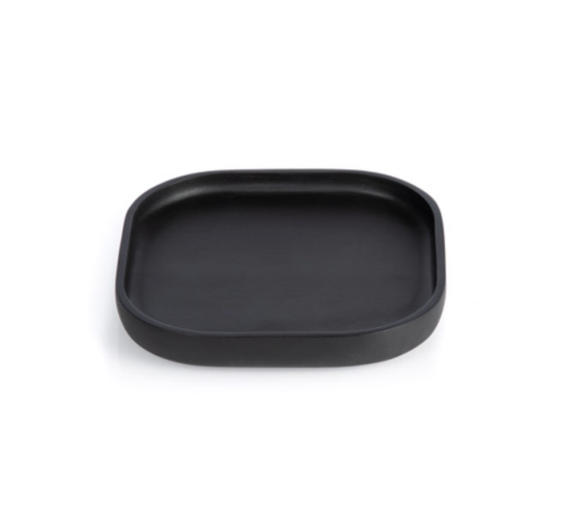 Plateaus / Valet - XLBOOM - NERO TRAY SQUARE EXTRA SMALL