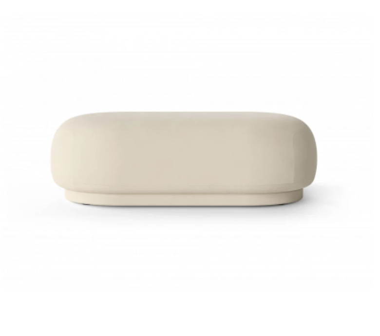 Poef - Fermliving - Rico Ottoman Brushed - Sand