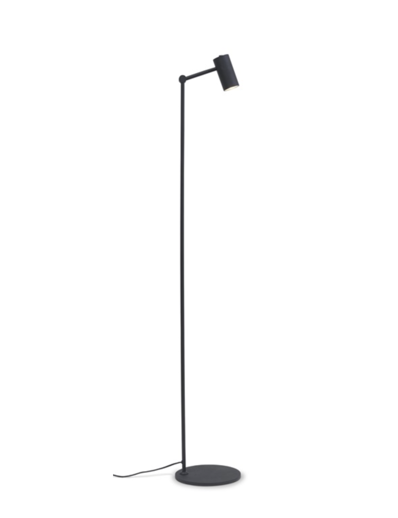 Floor lamp iron Montreux LED black