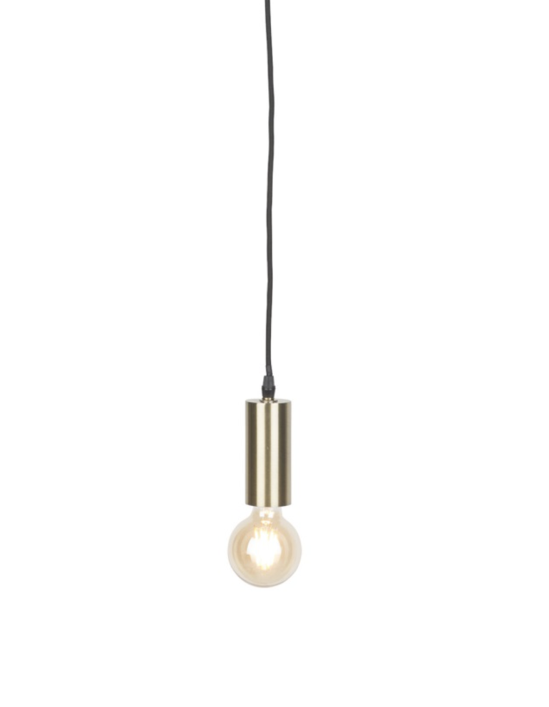 Hanging lamp iron Cannes gold, S