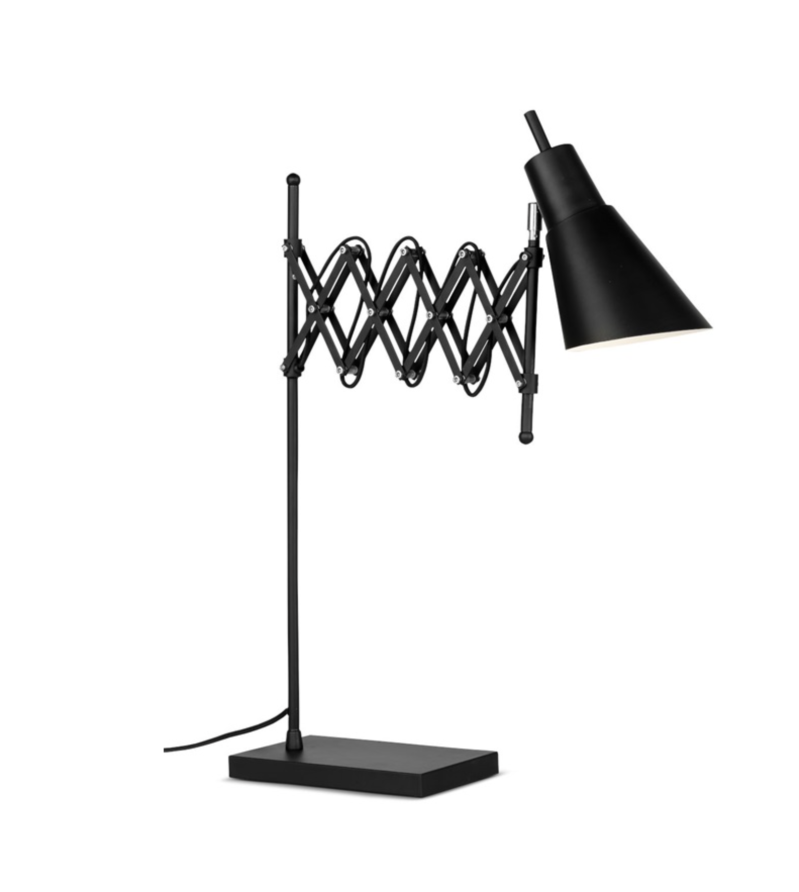 Table lamp iron Oxford, black