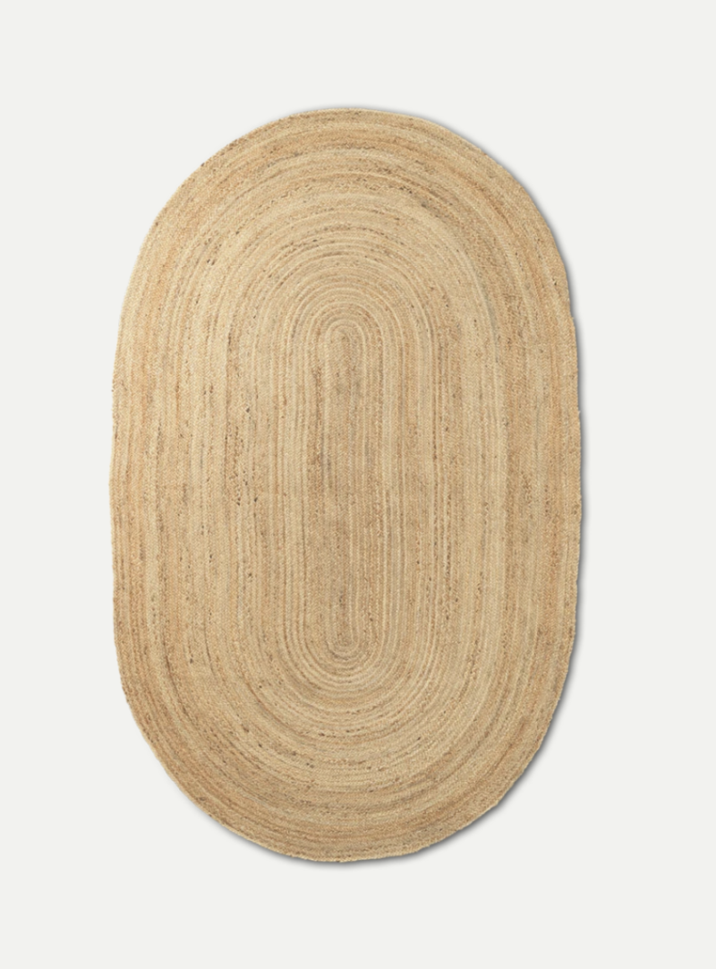 Tapijt - Eternal Oval Jute - Natural