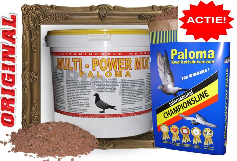 Paloma Multi–Power-Mix Original