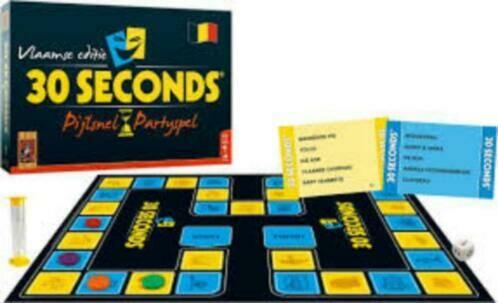 30 Seconds Pijlsnel Partyspel 999 Games