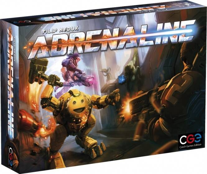 Czech Games Edition bordspel Adrenaline (en)