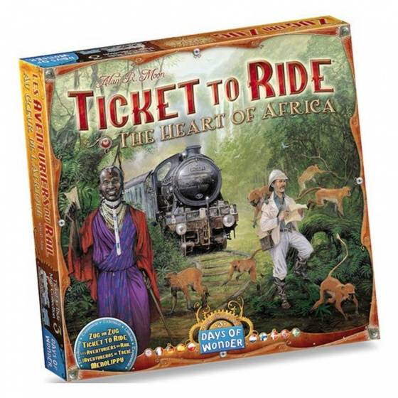 Ticket to Ride - Afrika Uitbreiding