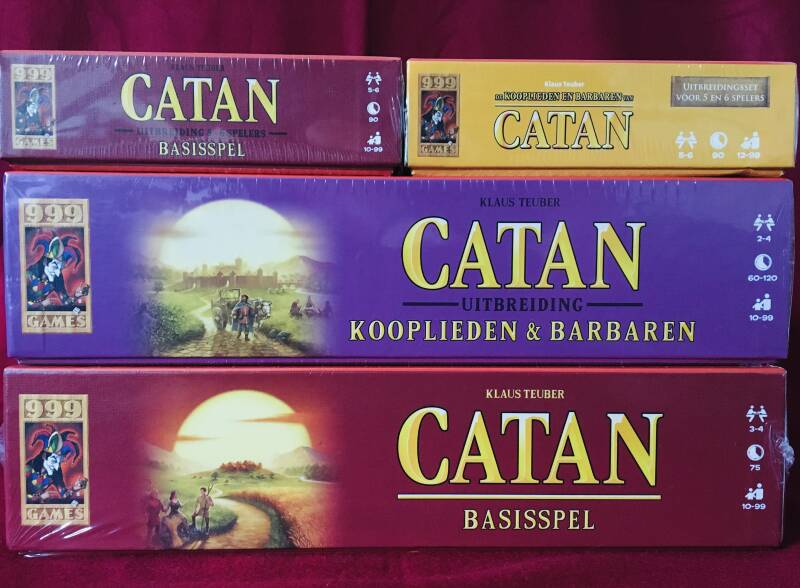 Catan Basisspel + Kooplieden & Barbaren 2-4 en 5-6 spelers