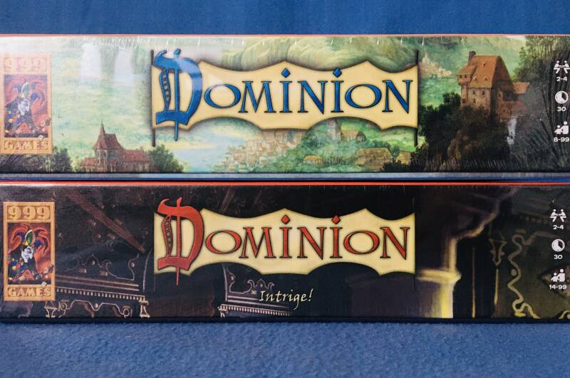 Dominion Basisspel + Intrige