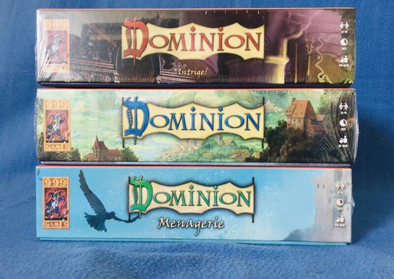 Dominion Basisspel + Menagerie + Intrige