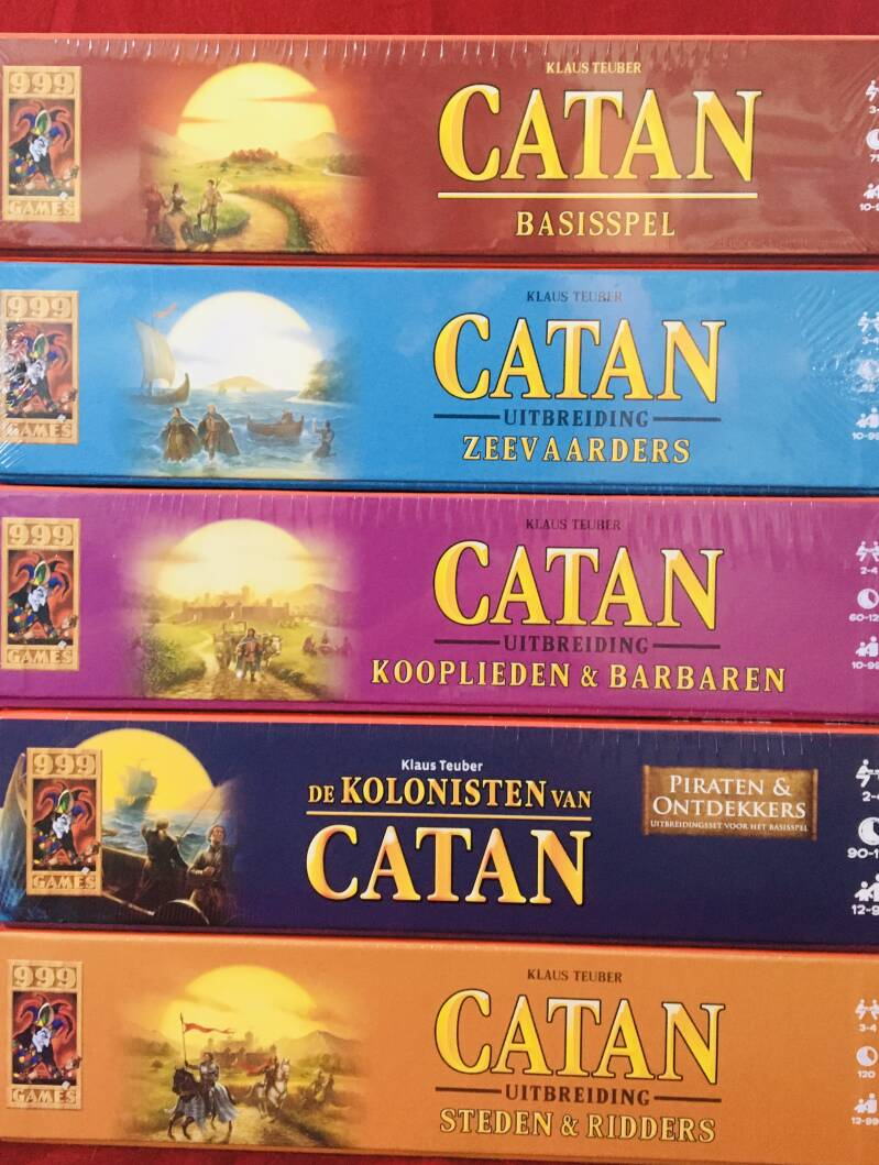 Catan Basis+Zeevaarders+Kooplieden+Piraten +Steden