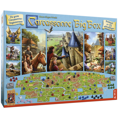 Carcassonne Big Box 3 - Bordspel 999-CAR37
