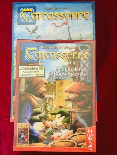 Carcassonne Basis + Kooplieden en Bouwmeesters
