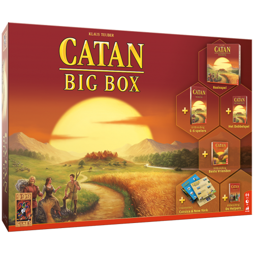 Catan Big Box 999-KOL49