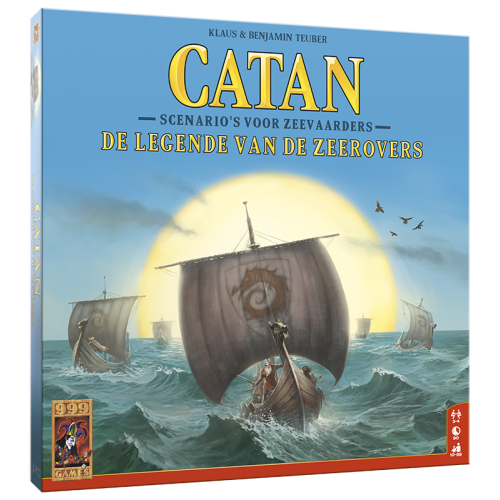 Catan: De legende van de zeerovers 999-KOL42