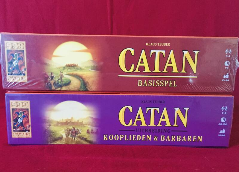 Catan Basisspel + Kooplieden en Barbaren  2-4 spelers