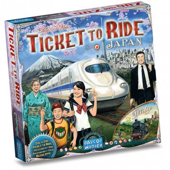 Ticket to Ride - Japan/Italy Uitbreiding