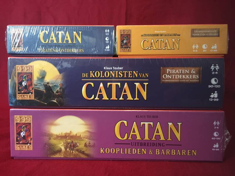 Catan Kooplieden en Barbaren + Piraten en Ontdekkers 2-6 spelers