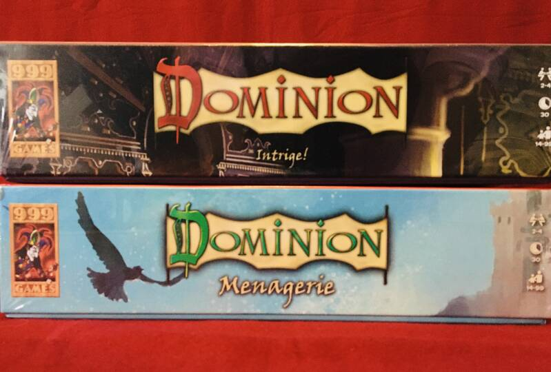 Dominion Bundel Menagerie + Intrige