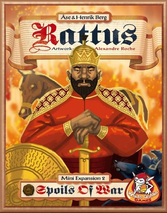 Rattus mini uitbreiding 2: Spoils of War