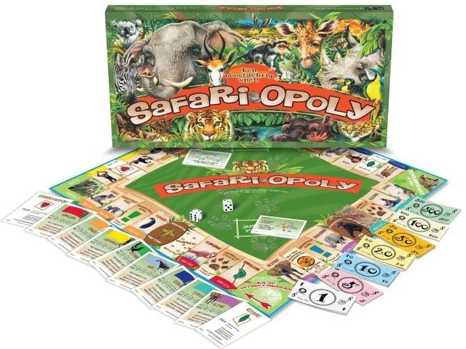 Late For The Sky Safari-opoly Monopoly