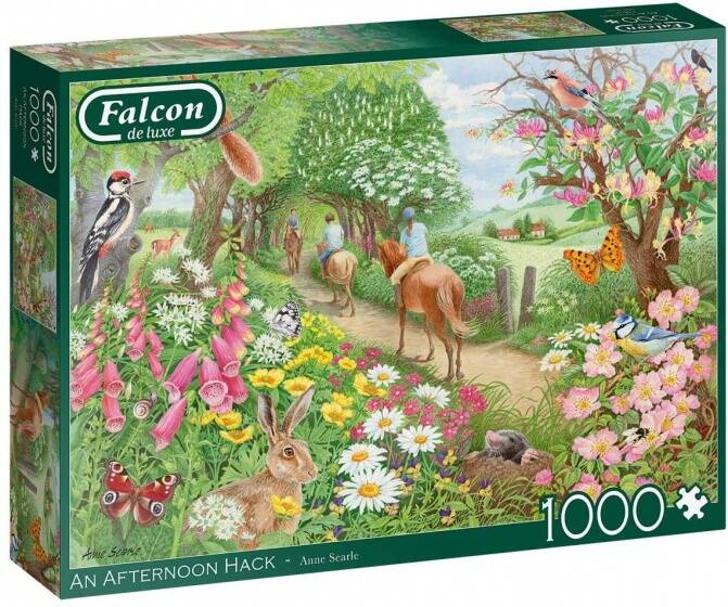 Falcon legpuzzel An Afternoon Hack 1000 stukjes