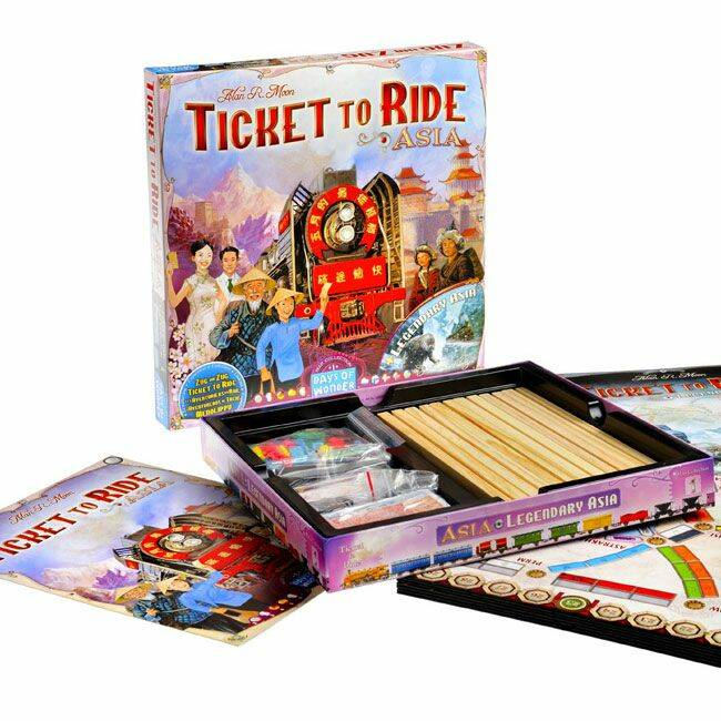 Ticket to Ride Uitbreiding  - Azië ( days of wonder)