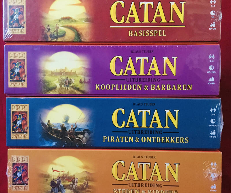 Catan Basis + Piraten + Steden & Ridders + Kooplieden 2-4 spelers