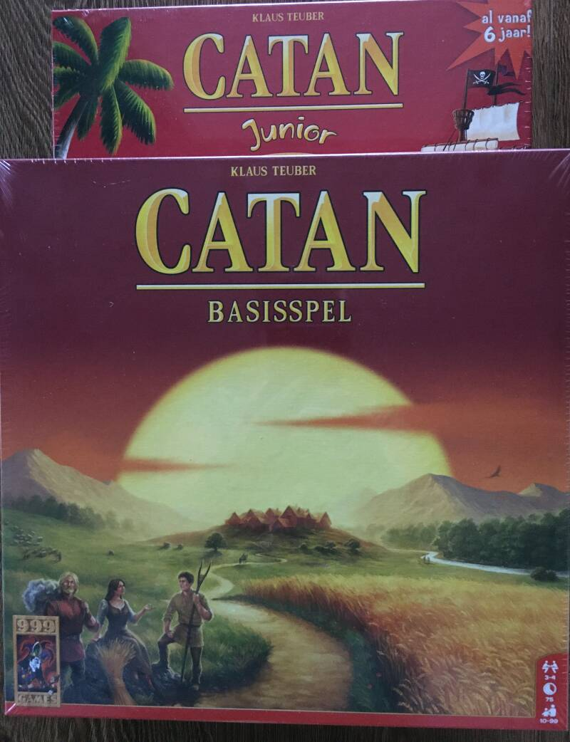 Catan bordspel inclusief Catan Junior