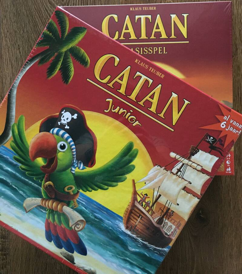 Catan bordspel inclusief Catan Junior 2-4 spelers