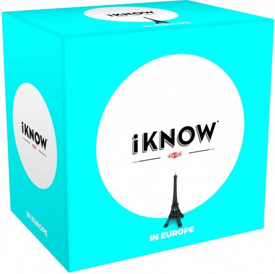 Tactic gezelschapsspel iKnow mini: Europe