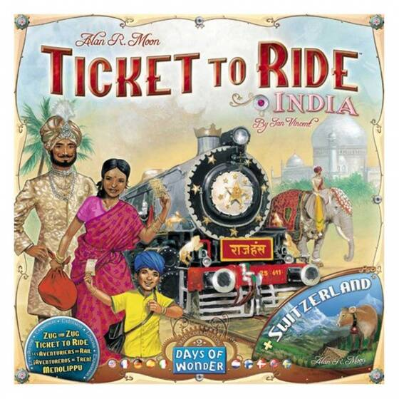 Ticket to Ride India , Afrika + Nederland
