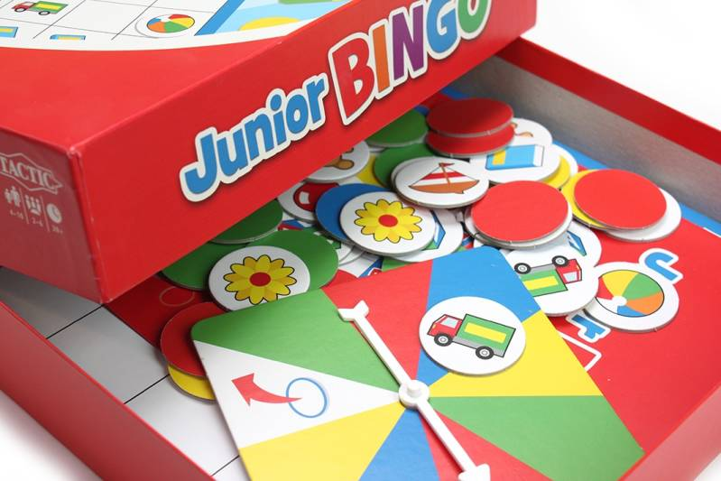 bingo-spel Junior (tactic)