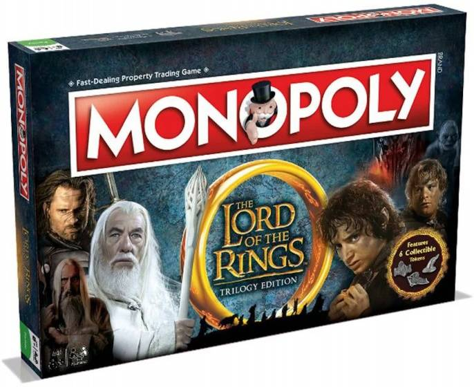Monopoly  Lord of the Rings (engels)
