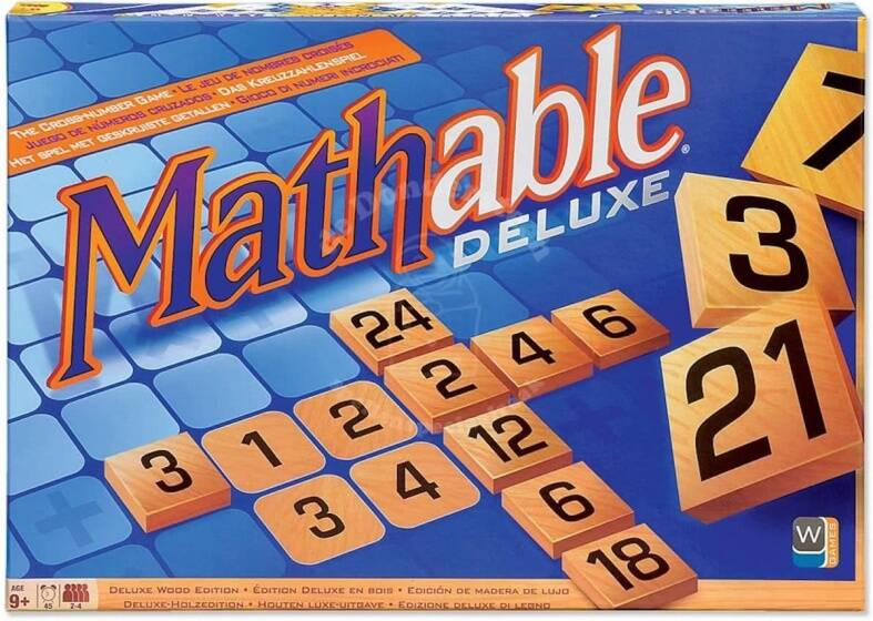 Mathable Deluxe Wood edition