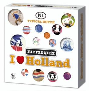 Nova Carta Memoquiz I love Holland