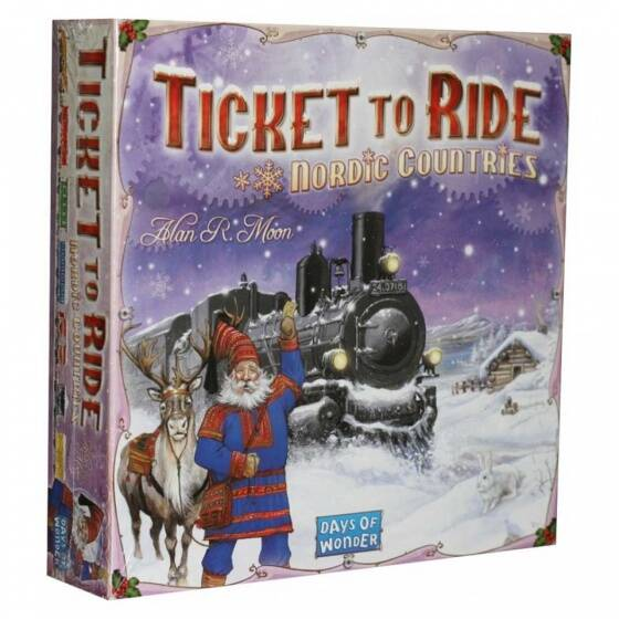 Days of Wonder bordspel Ticket to Ride - Nordic Countries (en)