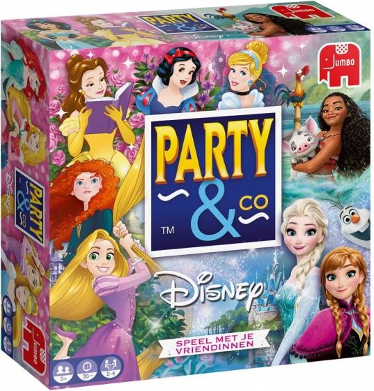 Party & Co Disney Princess (NL) Jumbo