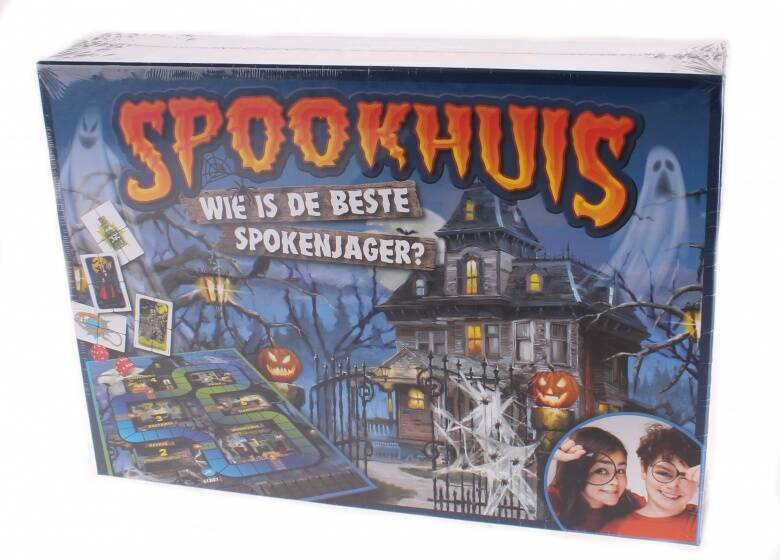 King Spookhuis Bordspel