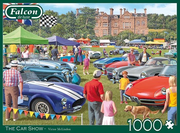 Falcon legpuzzel 'The Car Show' 1000 stukjes