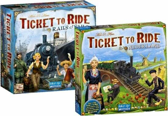 Ticket to Ride Rails & Sales en Nederland