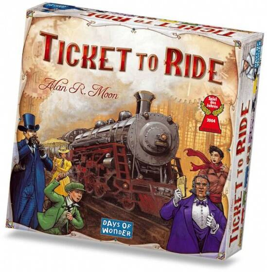 Days of Wonder bordspel Ticket to Ride - USA
