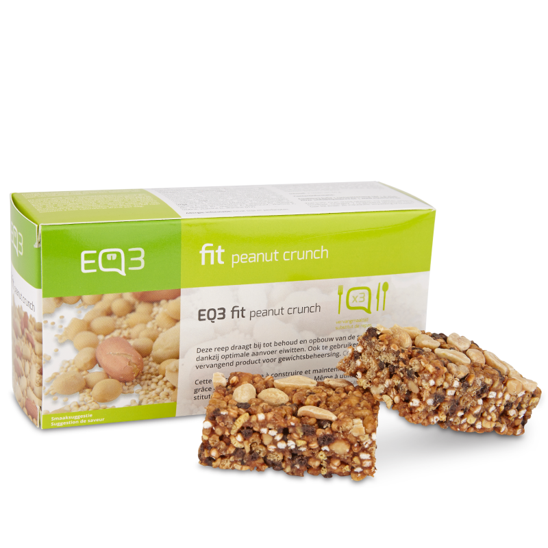EQ3 Fit Peanut Crunch 3 repen