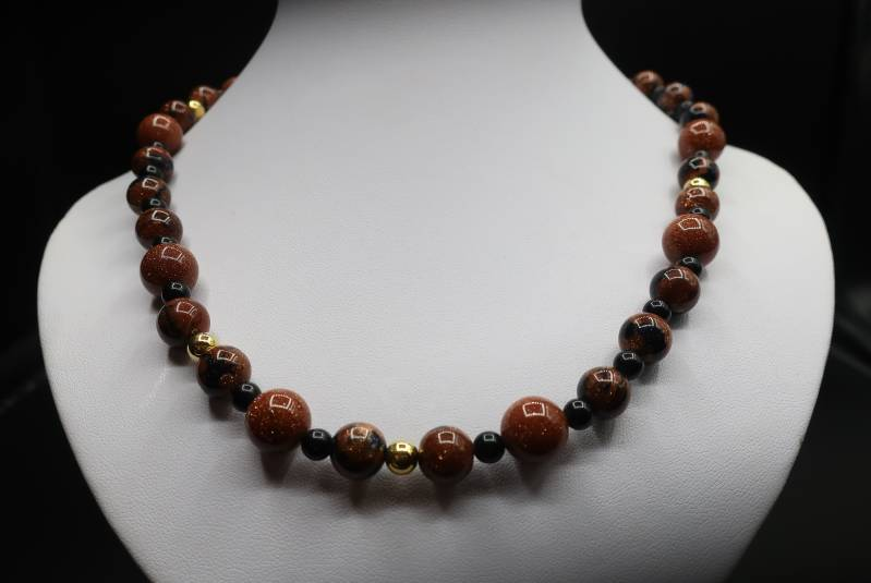 Collier set Goldy
